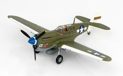 "Hobby Master HA5504 Curtiss P-40N Warhawk, 49th FG, 7th FS ""Rita/Orchid 13"""