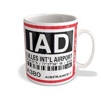 Mug Air France ( Air France - Washington IAD - AF028)