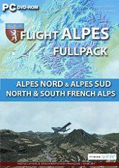 France VFR Flight Alpes Full Pack Edition DVD (FSX / FS9)