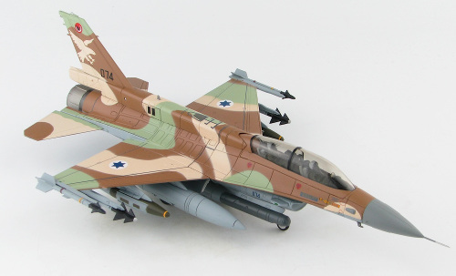 "Hobby Master HA3873 Lockheed F-16D Barak, 109th Sun Valley Sqn, 2006 ""UAV Killer"""