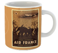 Mug Air France Afrique Occidentale / Équatoriale