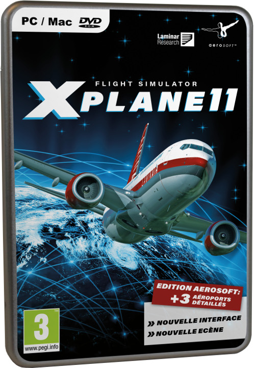 Xplane 11 Flight Simulator ( PC/MAC )