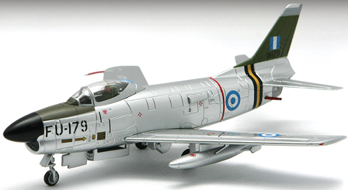 Falcon Models FA723002 F-86D Sabre, 343 interceptor Sqn, Royal Hellenic AF