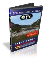 Orbx FTX Bella Coola - Airport Scenery Pack (FSX+P3D+FTX USA Canada Pacific Fjords)
