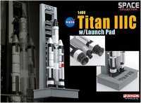 Rocket Titan IIIC + Launch Pad