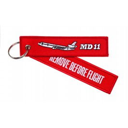 Porte-Clés Remove Before Flight MD-11