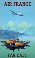 Affiche Air France Far East