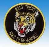 Patch  Nato Tigers - Hard to be Humble