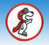 Patch Snoopy Pilot