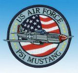 Patch  P-51 Mustang US AIR FORCE