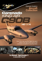 Carenado C90B King Air (FSX+Prepar3D)