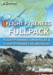 France VFR Flight Pyrénées FullPack Edition DVD (FSX / FS9)