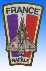 Patch  Rafale France