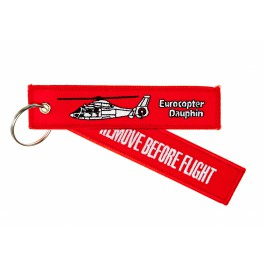 Porte-Clés Remove Before Flight Eurocopter Dauphin