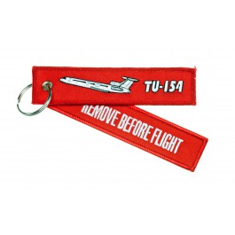 Porte-Clés Remove Before Flight TU-154