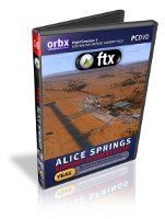 Orbx FTX Alice Springs Airport Scenery Pack (FSX)