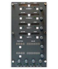 GoFlight GF-ICCS Integrated Comination Console System (grey)
