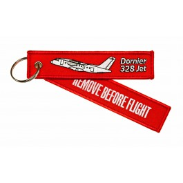 Porte-Clés Remove Before Flight Dornier 328 Jet