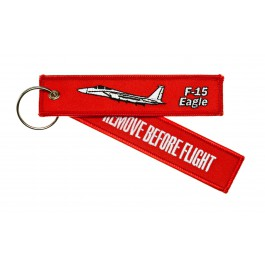 Porte-Clés Remove Before Flight F-15 Eagle