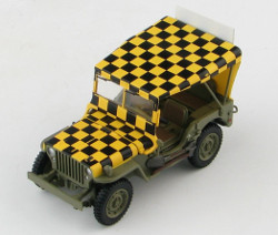 "Hobby Master HG1612 Willys Jeep, USAAF, ""Follow Me"""