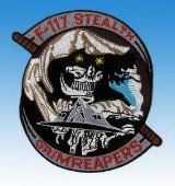 Patch F-117 Stealth Grimreapers