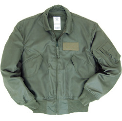 Blouson Bombers CWU45 Heavy Sage Green Flight Jacket