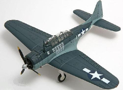 "Corgi PR99417 Douglas SBD-5 Dauntless, VMSB-231 Ace of Spades, ""White 1"", 1944"