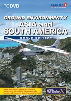 Flight1 Ground Environment X - Asia & South America World Edition (FSX)