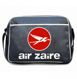 Flight Bag Air Zaïre ( Bleu Marine )