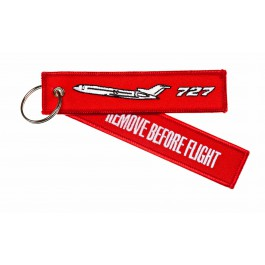 Porte-Clés Remove Before Flight Boeing 727