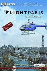 France VFR Flight Paris CityPack Edition DVD (FSX / FS2004)