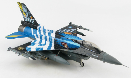 "Hobby Master HA3877 Lockheed F-16C Fighting Falcon, 340 Mira Fox ""Zeus III"" 2016"