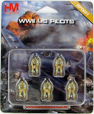 Hobby Master US Pilots Set WWII HP0001