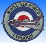 Patch Eurofighter Typhoon Royal Air Force