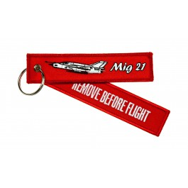 Porte-Clés Remove Before Flight Mig-21