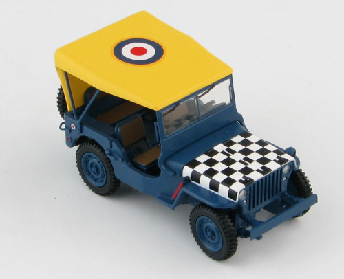 "Hobby Master HG1613 Willys Jeep, RAF, ""Follow Me"""