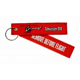 Porte-Clés Remove Before Flight Schweizer 300