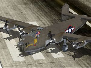 Flight1 B-24 Liberator (FSX+FS2004)