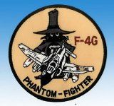 Patch McDonnell Douglas F-4G Phantom Fighter