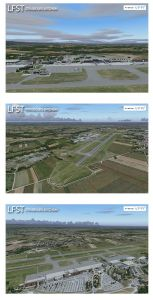 France VFR LFST Edition DVD (FS9/FSX)