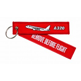 Porte-Clés Remove Before Flight Airbus A321