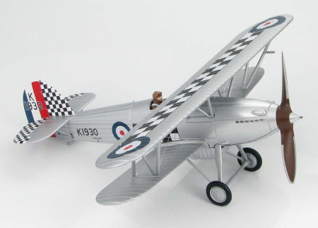 Hobby Master HA8001 Hawker Fury Mk.I, No.43 Sqn Fighting Cocks, RAF Tangmere, 1932