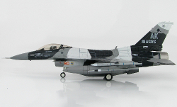 Hobby Master HA3844 Lockheed F-16C Fighting Falcon, 18th AGRS Blue Foxes, 2009
