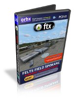 Orbx Felts Field Spokane - Airport Scenery Pack (FSX+Prepar3D)