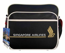 Sac Airliners Flight Travel Bag Singapore Airlines
