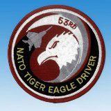 Patch  Nato Tiger Eagle driver