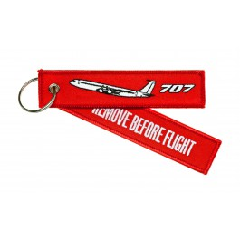 Porte-Clés Remove Before Flight Boeing 707