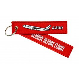Porte-Clés Remove Before Flight Airbus A300