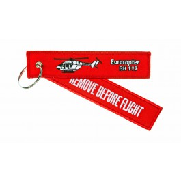 Porte-Clés Remove Before Flight Eurocopter BK-117