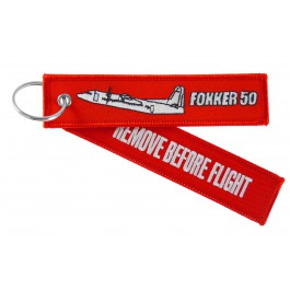 Porte-Clés Remove Before Flight Fokker 50